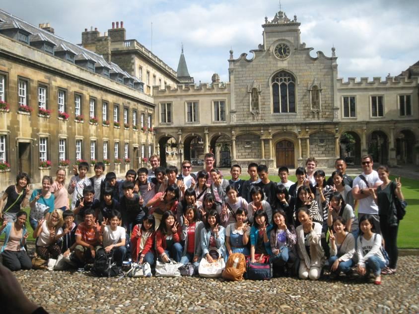 英国 ケンブリッジ大学研修